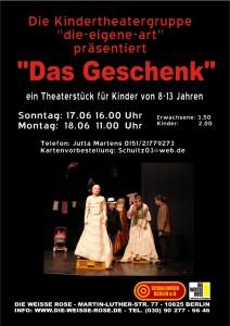 Kindertheater Das Geschenk A4
